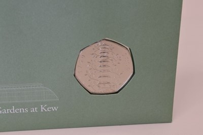 Lot Royal Mail limited edition numismatic first-day cover