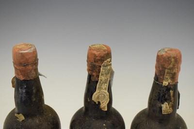 Lot Three bottles of Vinhos Borges Vintage Port