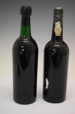 Lot Bottle of Graham's Vintage Port, 1970, together with