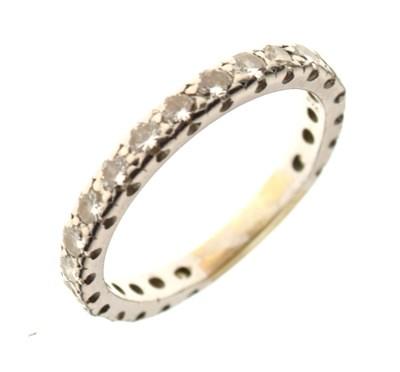 Lot 25 - Diamond eternity ring