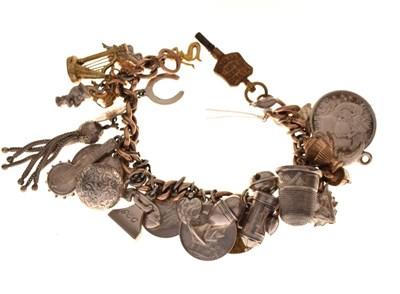Lot 47 - Charm bracelet