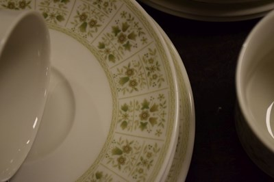 Lot 353 - Quantity of Royal Doulton Samarra pattern dinner and tea wares