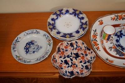 Lot 334 - Quantity of mostly 19th Century ceramics