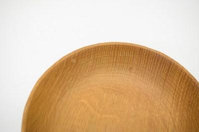 Lot Workshop of Robert 'Mouseman' Thompson, late 20th Century English oak bowl