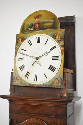 Lot 373 - Early 19th Century - circa 1830 - oak longcase clock, Cockermouth