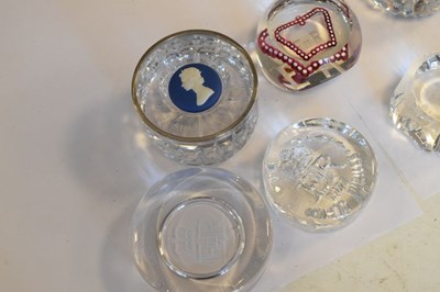 Lot 350 - Five Glass Paperweights