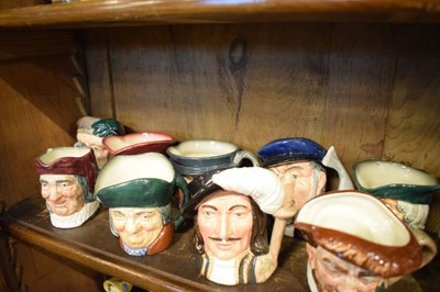 Lot 329 - Quantity of Royal Doulton and other toby jugs