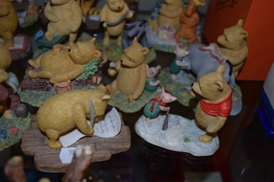 Lot 342 - Collection of Border Fine Arts 'Classic Pooh' figures (19)