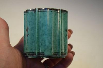 Lot 366 - 'Argenta' vase designed by William Kage for Gustavberg, Sweden