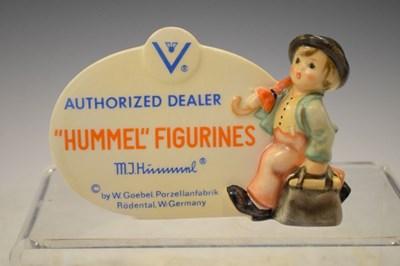 Lot 332 - Hummel advertising plaque, etc..