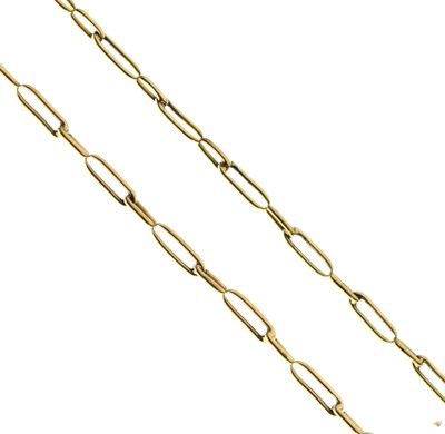 Lot 52 - Unmarked yellow metal chain