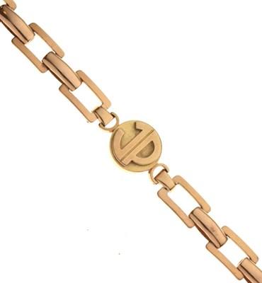 Lot 37 - French gold bracelet