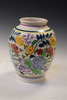 Lot 351 - Large Poole Pottery 'Traditional' series vase