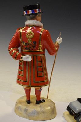 Lot 356 - Royal Crown Derby Beefeater figure