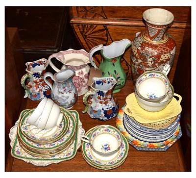 Lot 333 - Quantity of 19th century and later ceramics
