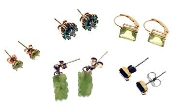 Lot 68 - Small quantity of earrings