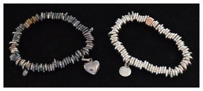 Lot 41 - Links of London and Clogau silver bracelets