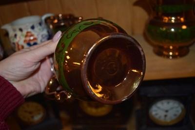 Lot 328 - Quantity of ceramics to include lustre jugs, etc